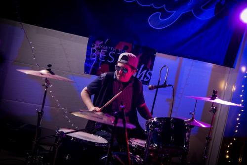 Drums/backup vocals - Nathalie Campos (Wildfire)